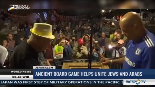 Ancient Board Game Helps Unite Jews and Arabs