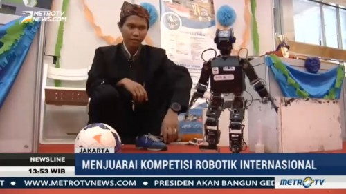 Indonesia Juara Umum Kompetisi Robotik Internasional di AS