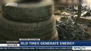 Old Tires and Congealed Fat Generate Interest and Energy
