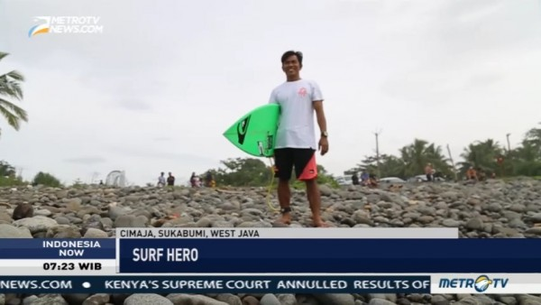 The Surf Hero from Cimaja