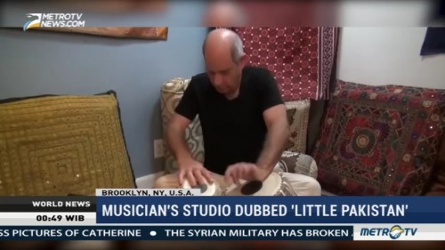 New York Musician's Studio Dubbed 'Little Pakistan'