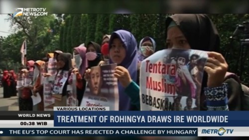 Treatment of Rohingya Draws Ire of Muslim Worlwide