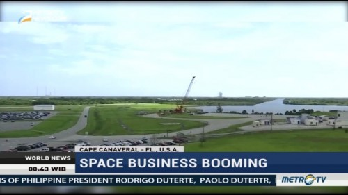 Space Business Booming in Cape Canaveral