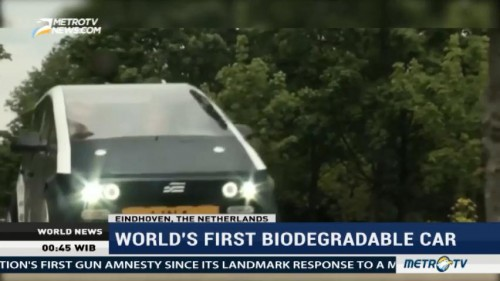 World First Biodegradable Car