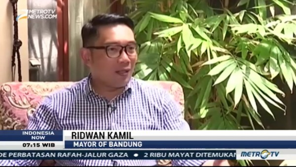 Interview with Ridwan Kamil, Mayor of Bandung