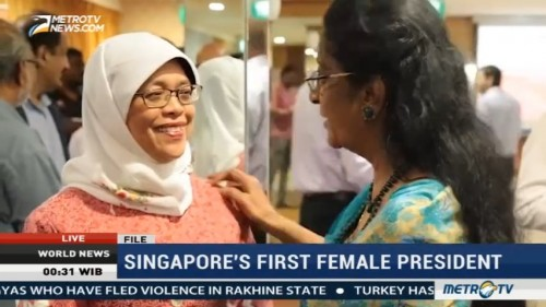 Singapore's First Female President