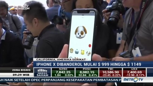Apple Perkenalkan iPhone X