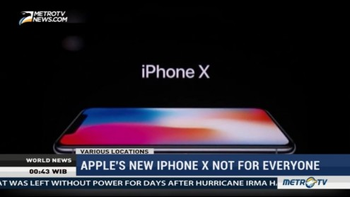 Apple's New Iphone X Not For Everyone