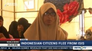 Indonesian Citizens Flee from ISIS