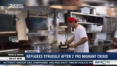 Refugees Struggle After 2 Years Migrant Crisis
