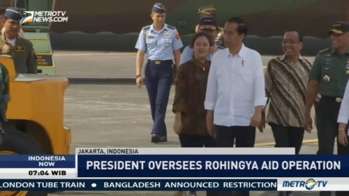 Indonesia Sends 34 Tons of Aid for Rohingya