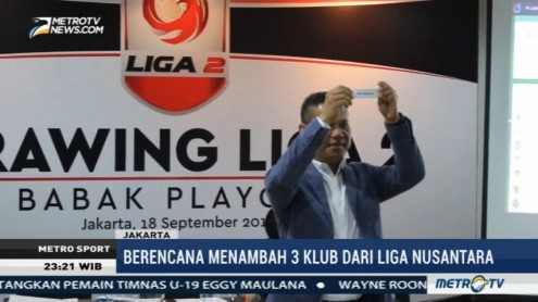 PT LIB Gelar Drawing Playoff Liga 2