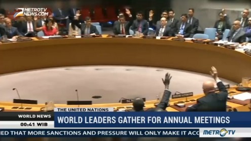 World Leaders Gather for Annual Meetings