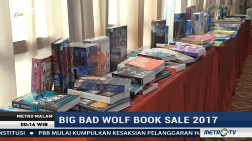 Big Bad Wolf Book Sale 2017 Hadir di Surabaya