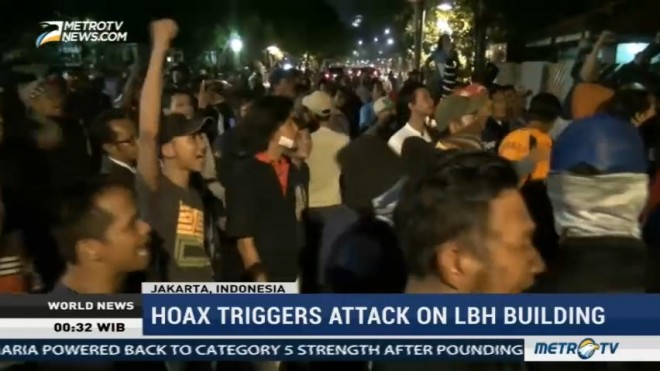 Hoax Triggers Attack on LBH Building