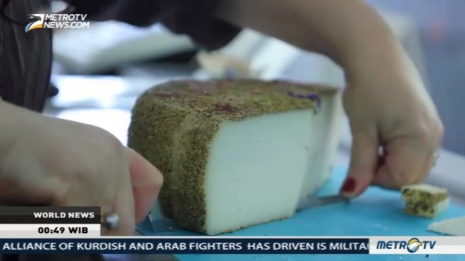 The Slow Food Cheese Festival in Italy