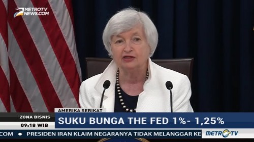 The Fed Tahan Suku Bunga