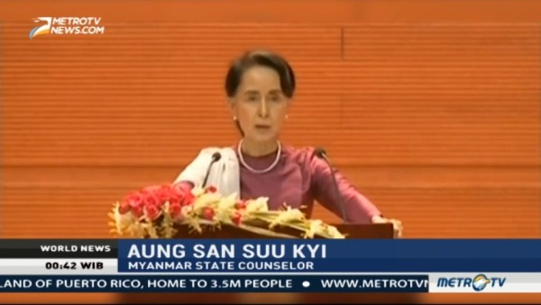 Aung San Suu Kyi Draws Mixed Reviews for Speech on Rohingya Crisis