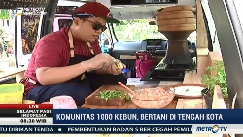 Komunitas 1.000 Kebun, Solusi Bertani di Tengah Kota (2)