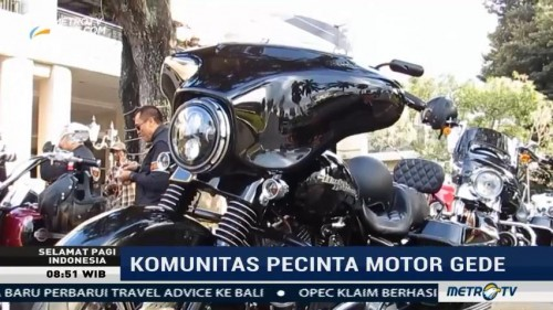 Mengenal Lebih Dekat Komunitas Moge di Yogyakarta