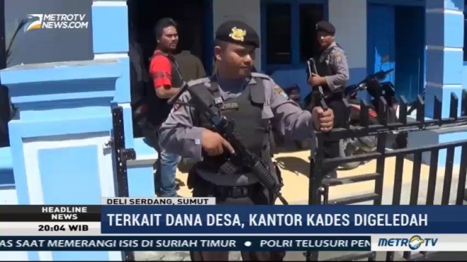 Kejari Deli Serdang Geledah Kantor Kades Percut Terkait Dana Desa