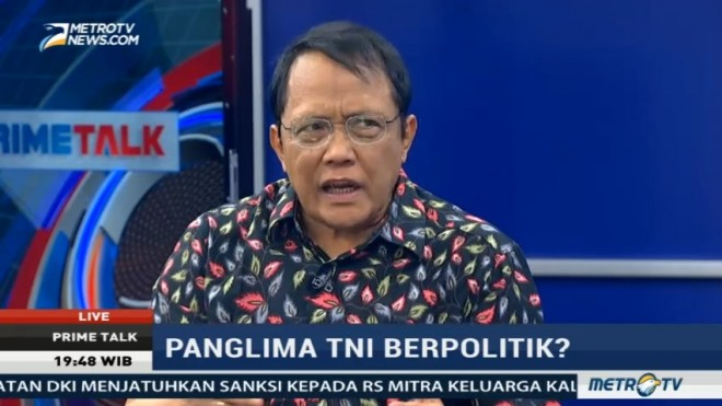 Pengamat: Panglima TNI Seharusnya Lapor ke Presiden