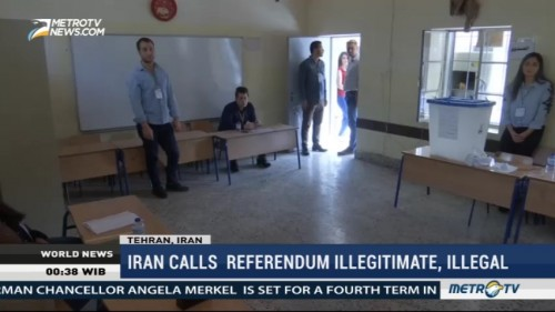 Iraqi Kurds Vote in Independence Referendum