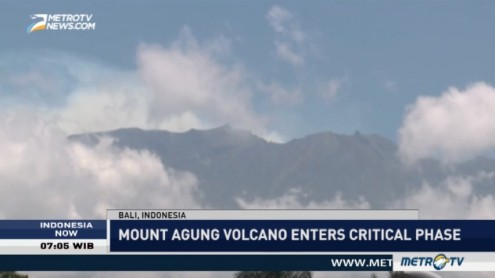 Mount Agung Volcano Enters Critical Phase