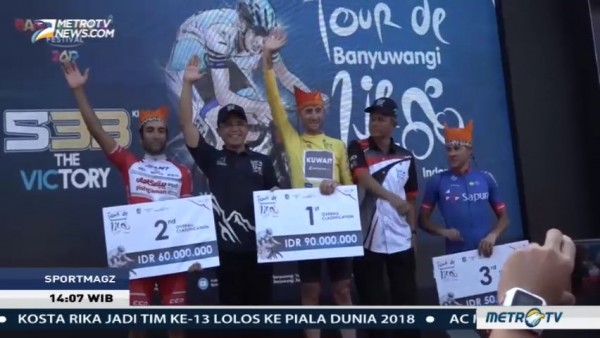 Daftar Juara International Tour de Banyuwangi Ijen 2017