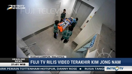 Fuji TV Rilis Video Terakhir Kim Jong-nam