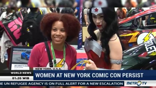 Women at New Yirk Comic Con Persist