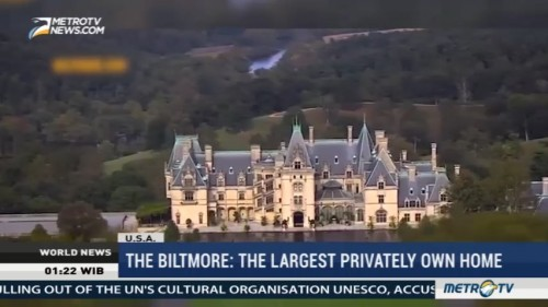 The Biltmore: The Largest Privately Own Home