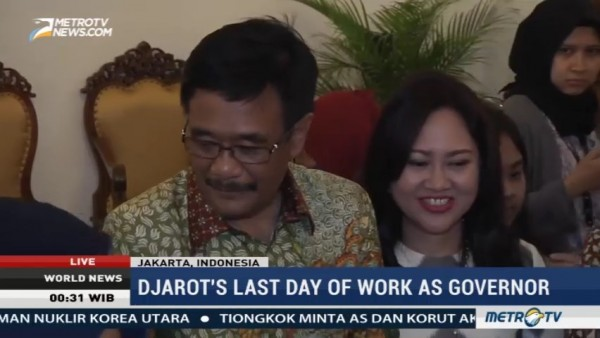Djarot's Last Day of Work as Governor