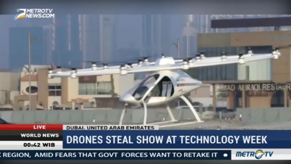 Drones Steal Show at Technology Week