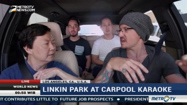 Linkin Park at Carpool Karaoke