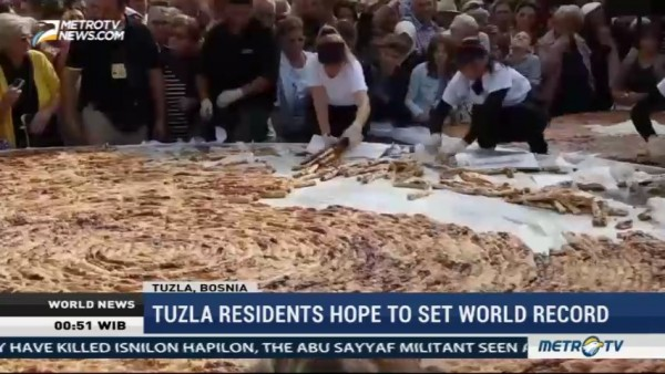 Tuzla Residents Hope To Set World Record
