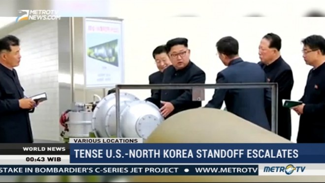 Tense US-North Korea Standoff Escalates