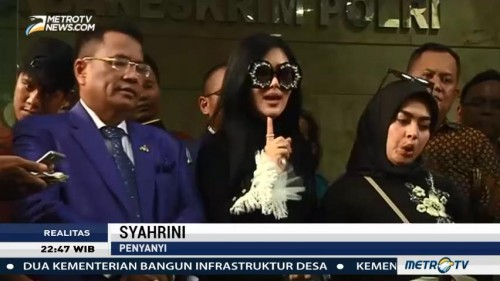 Syahrini di Kasus First Travel (2)