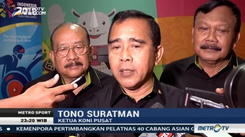 KONI Optimistis Target Asian Games 2018 Tercapai