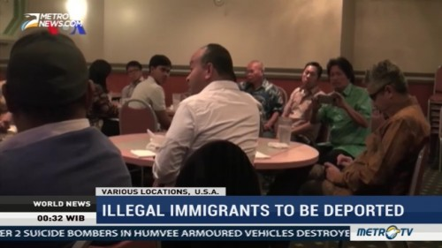 Illegal Immigrants To Be Deported