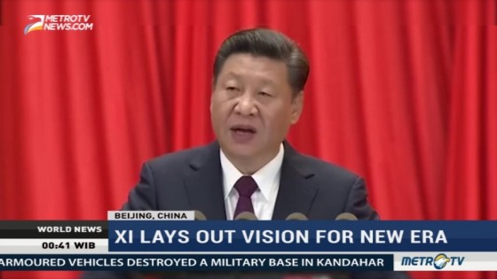 Xi Jinping Lays Out Vision for New Era