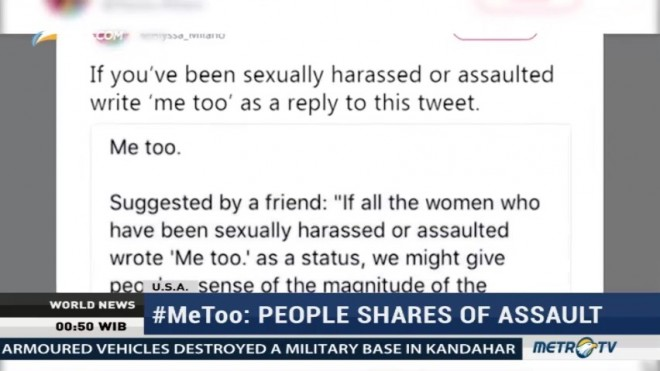 #MeToo: People Shares of Assault