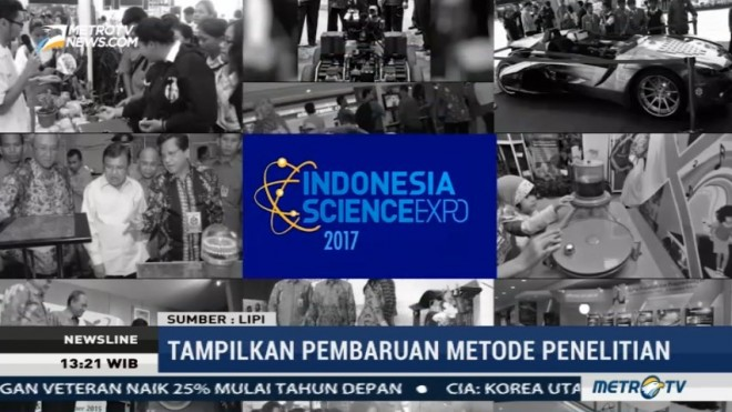 LIPI Kembali Gelar Indonesia Science Expo 2017