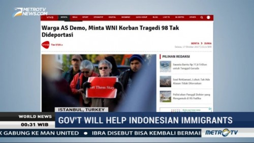 Government Will Help Indonesian Immigrants in US