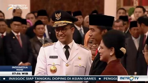 New Governor and Deputy Sworn In