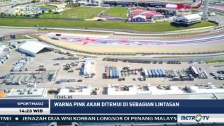Nuansa Pink Warnai F1 GP AS