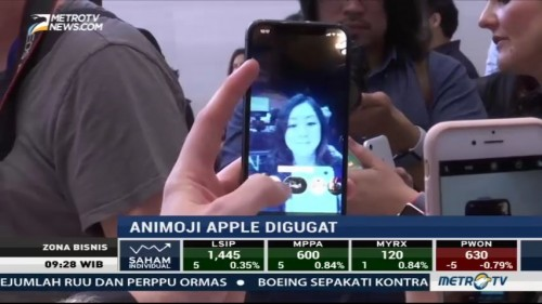 Animoji Apple Digugat