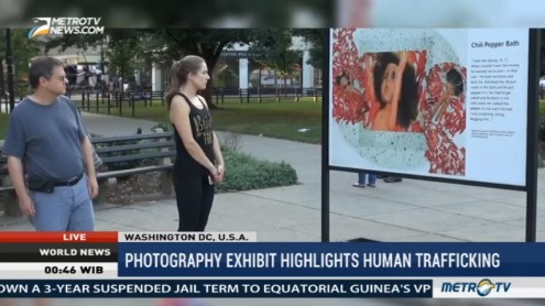 Photography Exhibit Highlights Human Trafficking