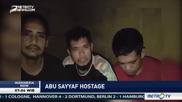 3 Indonesian Abu Sayyaf Hostage Send Video to Jokowi