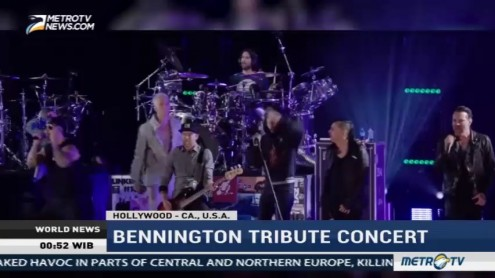 Linkin Park Performs a Bennington Tribute Concert